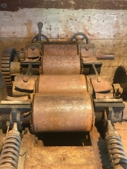 Roller Mill: The gradual reduction milling process required the use of several roller mills, each with a different setting. As grain moved through each set of roller, it was ground finer and finer.